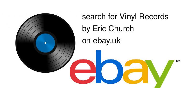 search for Vinyl Recordsby Eric Church on ebay.uk