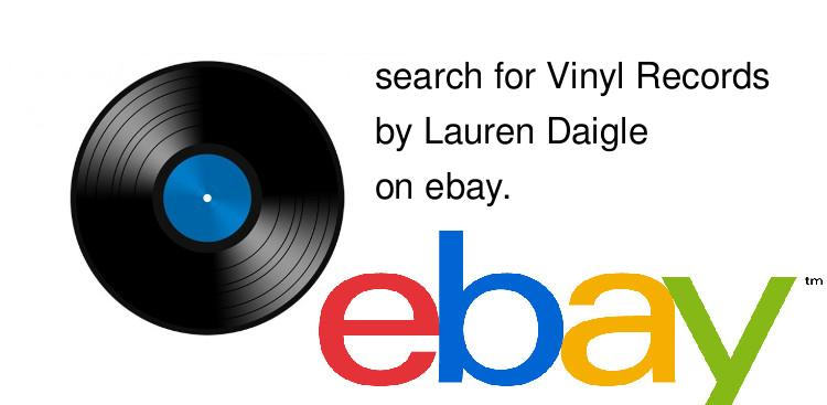 search for Vinyl Recordsby Lauren Daigle on ebay.