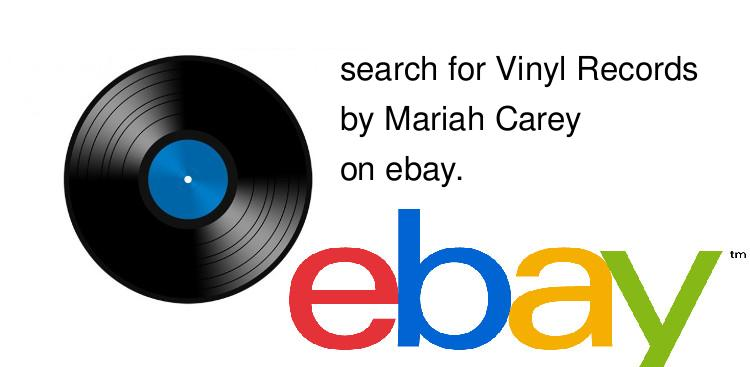 search for Vinyl Recordsby Mariah Carey on ebay.