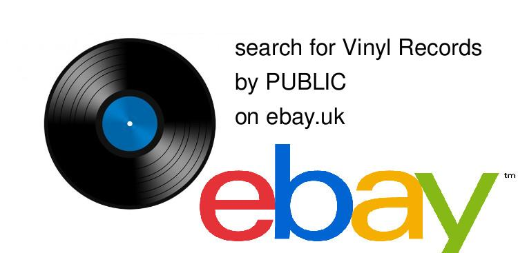 search for Vinyl Recordsby PUBLIC on ebay.uk