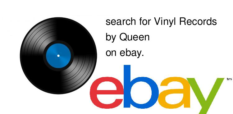 search for Vinyl Recordsby Queen on ebay.