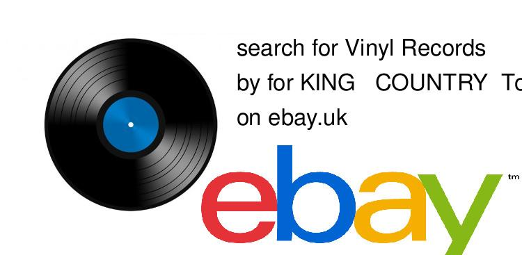 search for Vinyl Recordsby for KING & COUNTRY, Tori Kelly & Kirk Franklin on ebay.uk